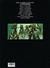 Verso de Le mercenaire -10- Géants