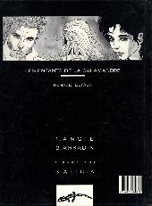 Verso de Les enfants de la Salamandre -2- Arkadin