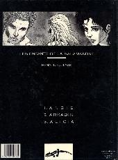 Verso de Les enfants de la Salamandre -3- Alicia