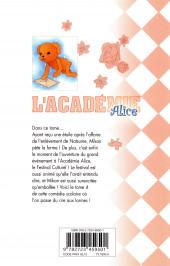 Verso de L'académie Alice -4- Tome 4