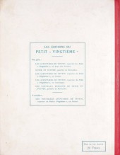 Verso de Tintin (Historique) -3- Tintin en Amérique