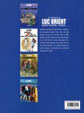 Verso de Luc Orient (Intégrale Le Lombard) -2- Intégrale 2