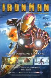 Verso de Marvel Heroes (Marvel France - 2007) -7- Zone verte
