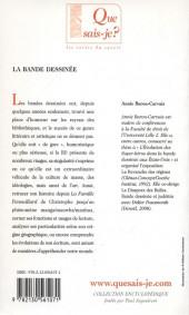 Verso de (DOC) Études et essais divers -b- La Bande dessinée