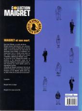 Verso de Maigret -1- Maigret et son mort