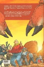 Verso de Shaolin Cowboy (Panini) -1- La Vengeance du Roi crabe