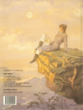 Verso de Le moine fou -7- Les tourbillons de fleurs blanches