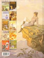 Verso de Le moine fou -10- Poussière d'or