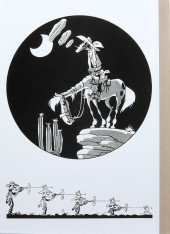 Verso de Lucky Luke -15TL- L'évasion des Dalton