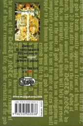 Verso de Death Note -10- Tome 10