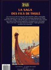 Verso de La saga des fils de Thulé -1- Le drakkar des bannis