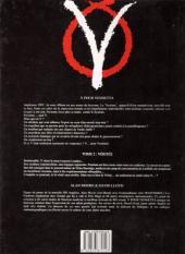 Verso de V pour Vendetta -2- Vérités