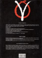 Verso de V pour Vendetta -4- Valérie