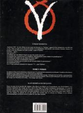 Verso de V pour Vendetta -5- Voyages