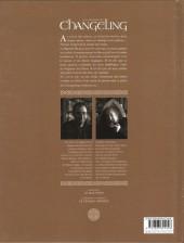 Verso de La légende du Changeling -1- Le mal-venu