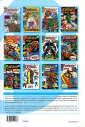Verso de Fantastic Four (L'intégrale) -6- Fantastic four : l'intégrale 1967