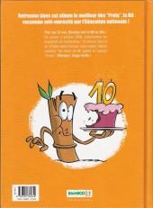 Verso de Les profs -HS1- Best of 10 ans bamboo