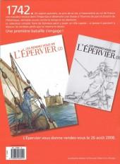 Verso de Épervier (Les rendez-vous de l') -7RDV1- Les rendez-vous de l'Épervier (1)