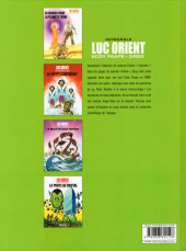 Verso de Luc Orient (Intégrale Le Lombard) -3- Intégrale 3