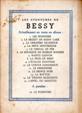 Verso de Bessy -5- Le cheval de fer