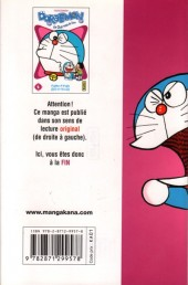 Verso de Doraemon, le Chat venu du futur -4- Tome 4