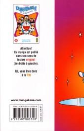 Verso de Doraemon, le Chat venu du futur -6- Tome 6