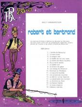 Verso de Robert et Bertrand -18- Visiteurs insolites
