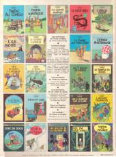 Verso de Tintin (Historique) -9C4- Le crabe aux pinces d'or