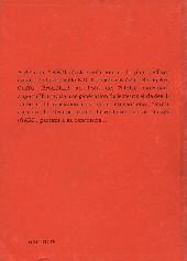Verso de (AUT) Tardi -2- À la rencontre de ... Jacques Tardi