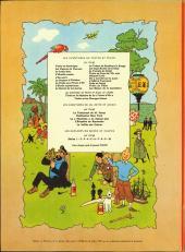 Verso de Tintin (Historique) -19B36- Coke en stock