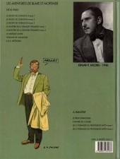Verso de Blake et Mortimer (Les Aventures de) -7b1990- L'Enigme de l'Atlantide