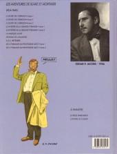 Verso de Blake et Mortimer (Les Aventures de) -12- Les 3 Formules du Professeur Satô - Tome 2