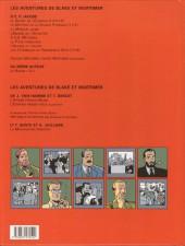 Verso de Blake et Mortimer -14- La Machination Voronov