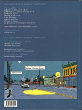 Verso de Blake et Mortimer -15- L'Étrange Rendez-vous