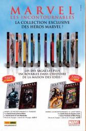 Verso de Marvel Heroes (Marvel France - 2007) -10- Sans frontières
