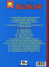 Verso de Bouldaldar et Colégram -8- Arsène Lapin (Libre Junior 6)