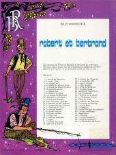 Verso de Robert et Bertrand -45- La malédiction de Hyavar