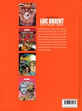 Verso de Luc Orient (Intégrale Le Lombard) -4- Intégrale 4