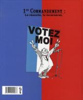 Verso de Les 40 commandements - Les 40 commandements du militant de droite
