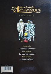 Verso de Les survivants de l'Atlantique -INT1- Intégrale 1-2-3