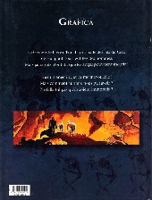 Verso de Les immortels (Desberg/Reculé) -1- Le tombeau de l'ange