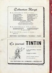 Verso de (Recueil) Tintin (Album du journal - Édition belge) -66- Tome 66