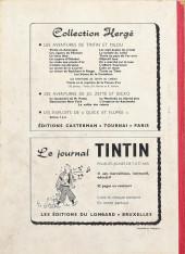 Verso de (Recueil) Tintin (Album du journal - Édition belge) -68- Tome 68