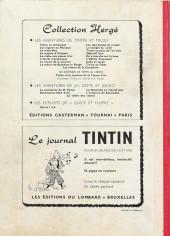 Verso de (Recueil) Tintin (Album du journal - Édition belge) -60- Tome 60