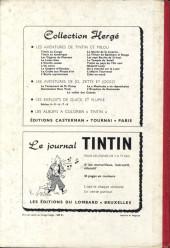 Verso de (Recueil) Tintin (Album du journal - Édition belge) -40- Tome 40