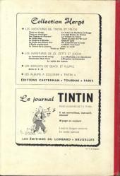 Verso de (Recueil) Tintin (Album du journal - Édition belge) -50- Tome 50