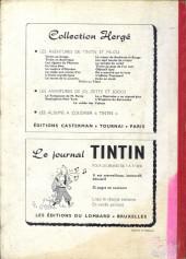 Verso de (Recueil) Tintin (Album du journal - Édition belge) -55- Tome 55