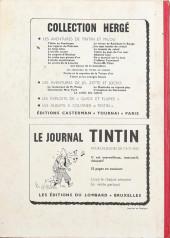 Verso de (Recueil) Tintin (Album du journal - Édition belge) -70- Tome 70