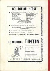 Verso de (Recueil) Tintin (Album du journal - Édition belge) -75- Tome 75