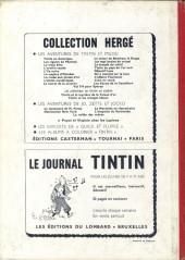Verso de (Recueil) Tintin (Album du journal - Édition belge) -91- Tome 91